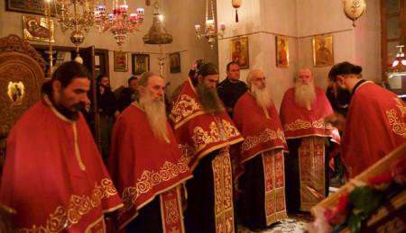 Πανήγυρις στο Σιμωνοπετρίτικο Ι. Κελλί Ευαγγελισμού της Θεοτόκου Καρεών (2016)