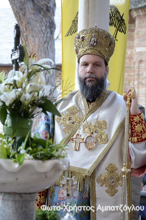 Πανήγυρις του αγ. Γεωργίου στην Ιερά Μονή Ξενοφώντος (2016)