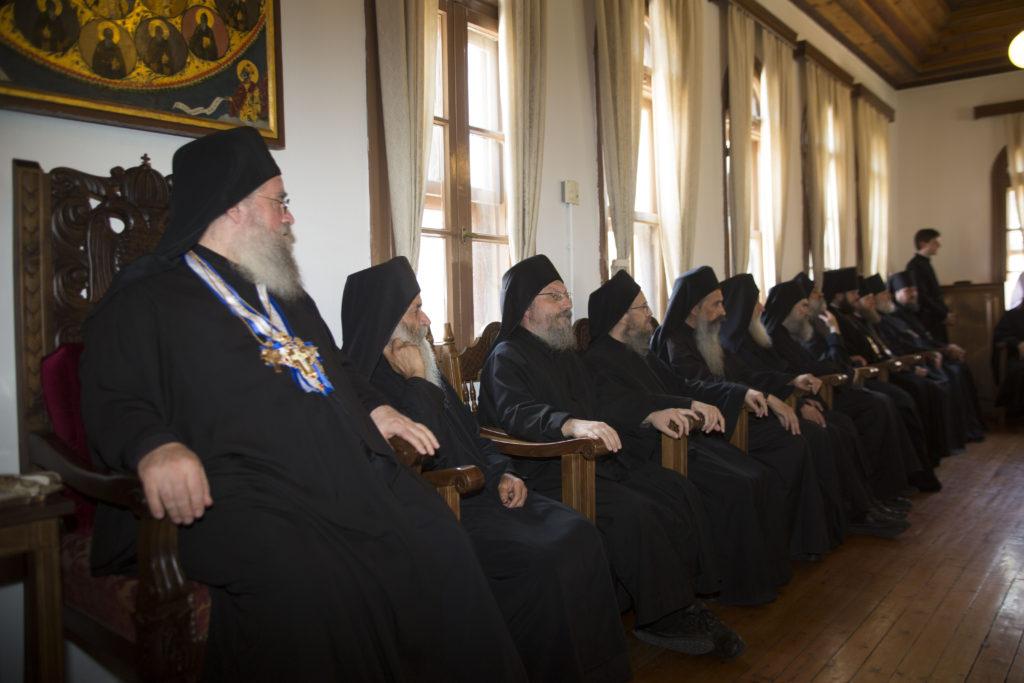 Υποδοχή του Πατριάρχη Μόσχας και πασών των Ρωσιών κ. Κυρίλλου στο Άγιον Όρος