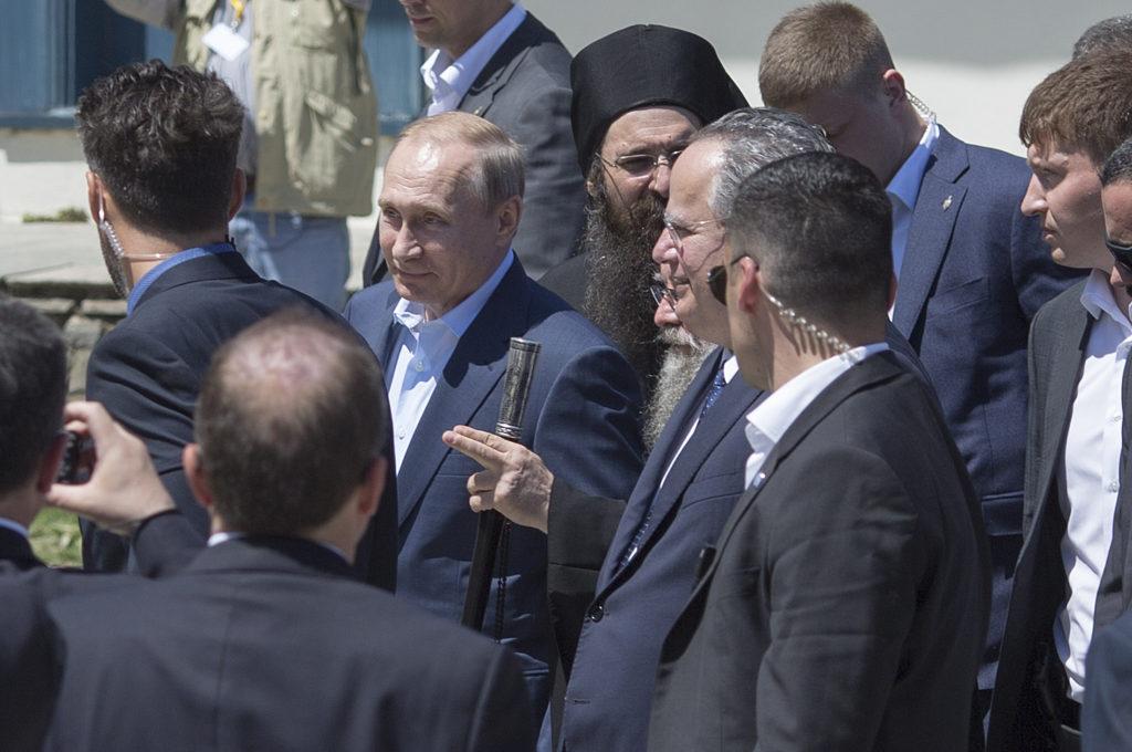 Η επίσκεψη του Προέδρου της Ρωσίας Πούτιν στο Άγιον Όρος