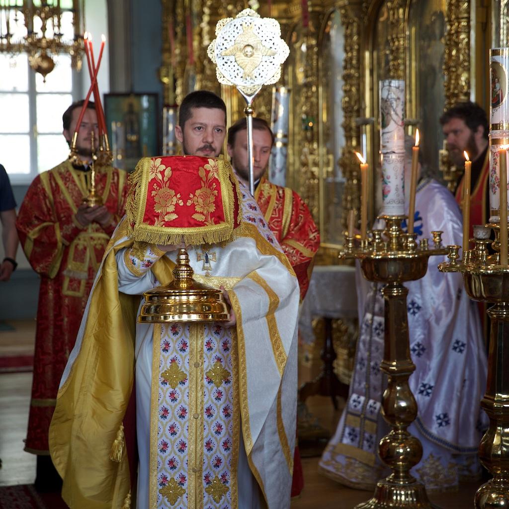 Ο Πατριάρχης Μόσχας και πασών των Ρωσιών κ. Κύριλλος στην Ιερά Μονή Παντελεήμονος
