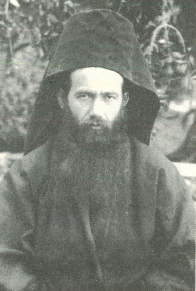 Ιερομόναχος Ιωάσαφ Καυσοκαλυβίτης, ο πράος και καλοκάγαθος.