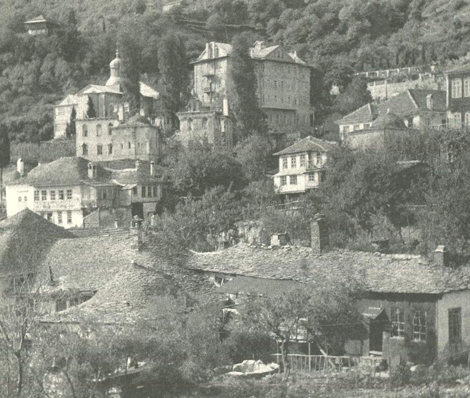Κελλιά των Καρυών (φωτ.1918)