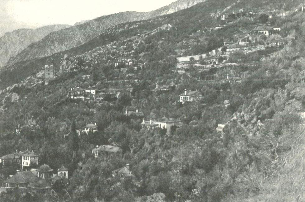 Ιερά Νέα Σκήτη (φωτ. 1880)
