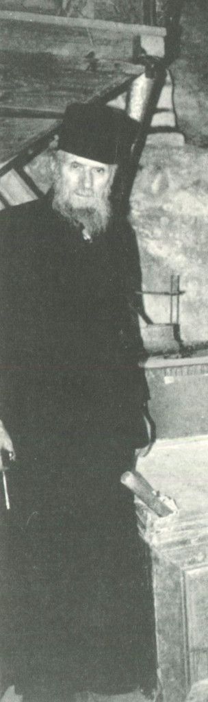 Μοναχός Μόδεστος Κωνσταμονίτης, ο πράος, συνετός και σοβαρός.