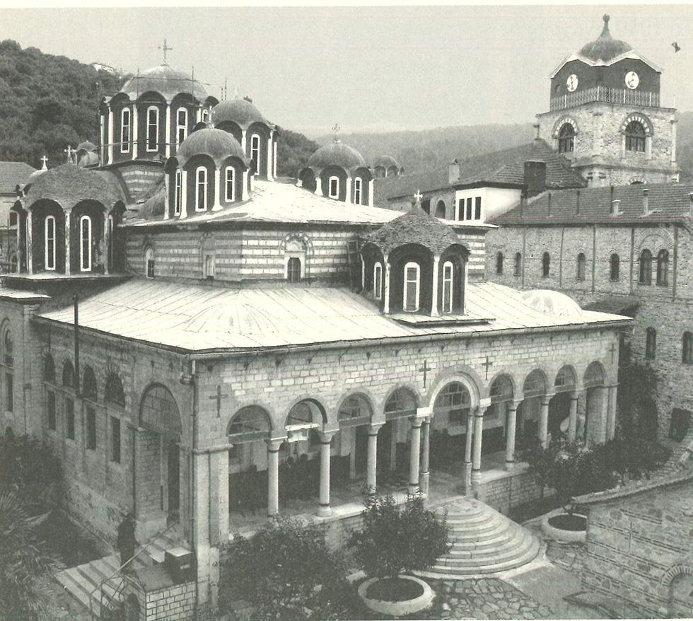 Το Καθολικό της Ιεράς μονής Εσφιγμένου.
