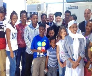 Το Πάσχα του Μητροπολίτη με τους πρόσφυγες στη Λέρο