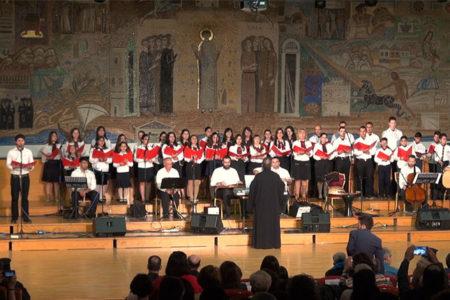 Η Νεανική Χορωδία της Ι.Μ. Ν. Κρήνης και Καλαμαριάς στην Εβδομάδα Θεολογικού Λόγου και Τέχνης