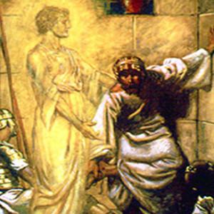 Οι απόστολοι Πέτρος και Ιωάννης στη φυλακή