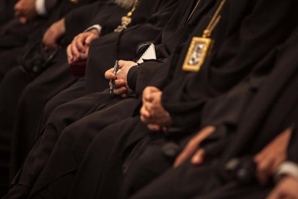 Στιγμές από τις εργασίες της Αγίας και Μεγάλης Συνόδου