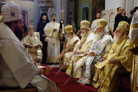 Αγία και Μεγάλη Σύνοδος: Θεία Λειτουργία Κυριακή της Πεντηκοστής