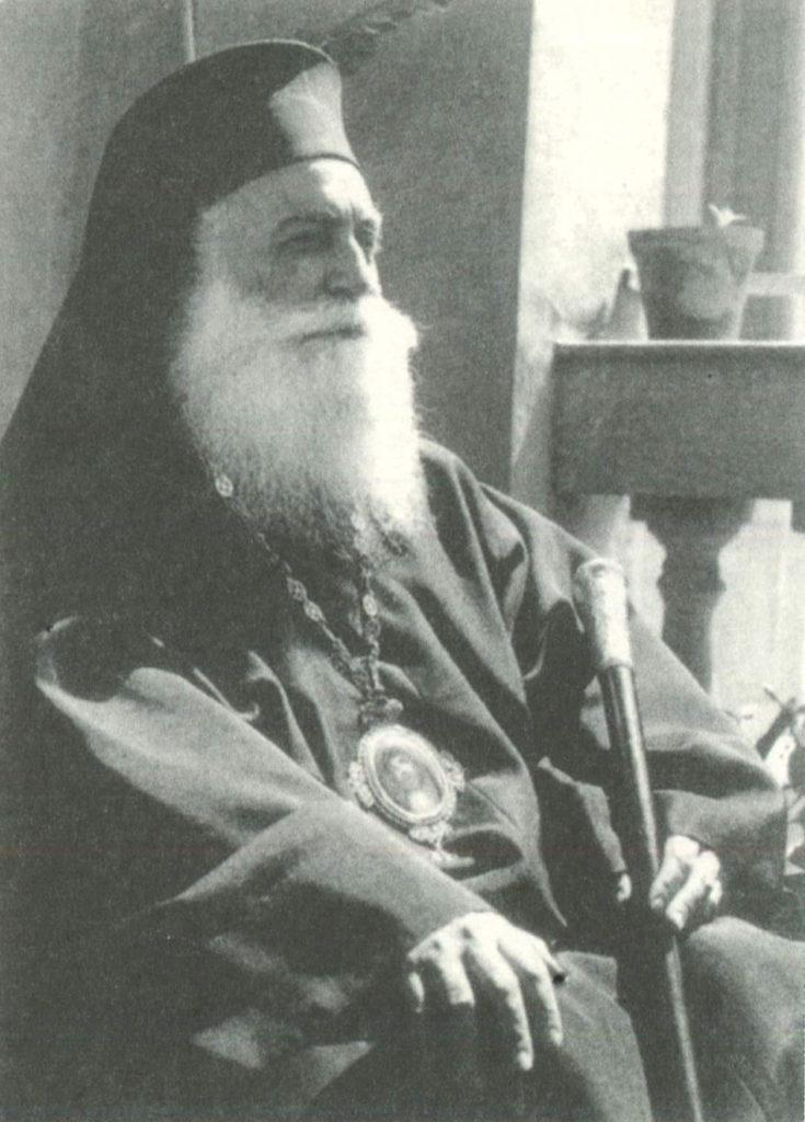 Μητροπολίτης Παντελεήμων Θεσσαλονίκης, επίσκοπος που μύριζε λιβάνι.