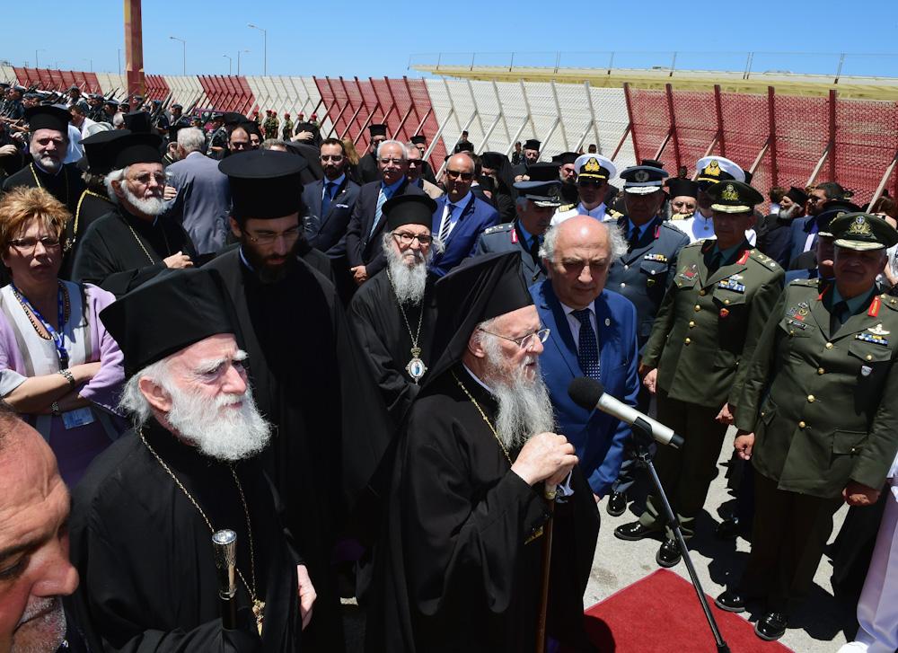 Αφίξεις Ορθόδοξων Προκαθημένων στα Χανιά, για την Αγία και Μεγάλη Σύνοδο