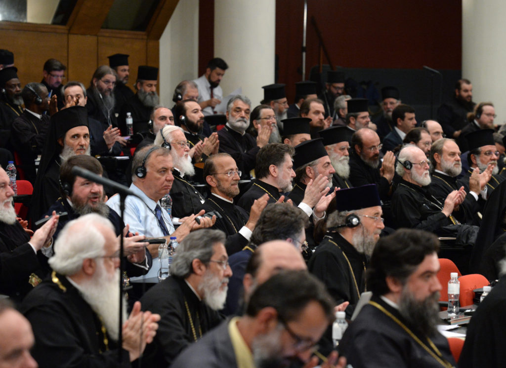 Στιγμές από τη 4η και 5η μέρα των εργασιών της Αγίας και Μεγάλης Συνόδου