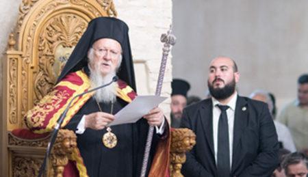Πατριαρχικός Εσπερινός των Αποστόλων Παύλου και Πέτρου στην Παλαιά Μητρόπολη της Βέροιας