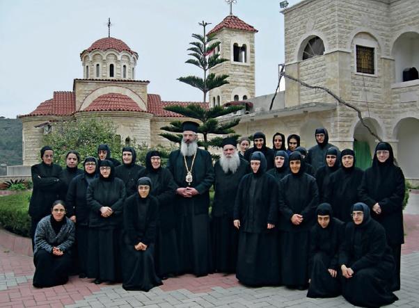 Στο Μοναστήρι της Μονής Παναγίας Blemmana στην Συρία