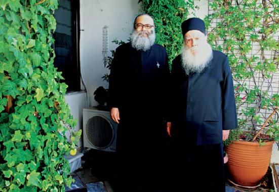 Τελευταία συνάντηση (10 Ιουνίου 2012) με τον νυν Πατριάρχη Αντιόχειας κ.κ. Ιωάννη Ι΄