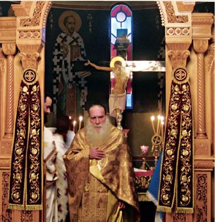 Λειτουργός στην Ιερά Μονή «Παναγία του Έβρου»