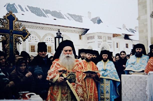 Εορτή των Θεοφανείων στην Ιερά Μονή Putna στην Ρουμανία