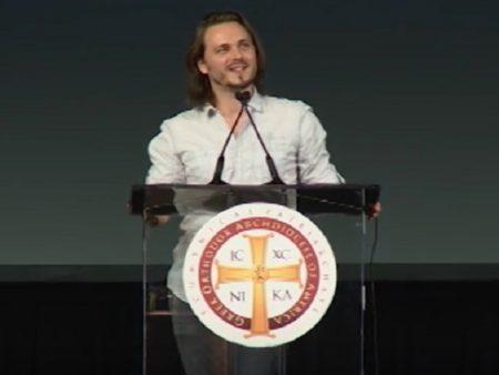 Ο Τζόναθαν Τζάκσον μιλά στην Κληρικολαϊκή Συνέλευση της Αρχιεπισκοπής Αμερικής