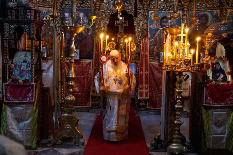 Πανήγυρις του οσίου Παϊσίου στην Ιερά Μονή Κουτλουμουσίου