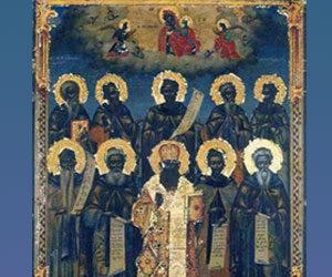 «Των Θεοφόρων ημών Πατέρων ο χορός», Δοξαστικό Βατοπαιδινών αγίων (Ξενοφωντινός Χορός)