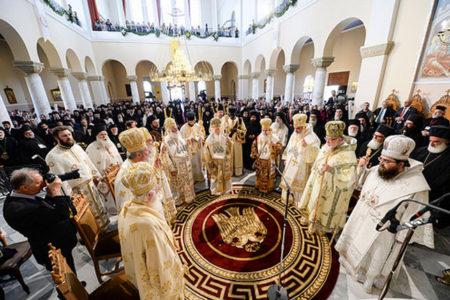 Πατριαρχική Θεία Λειτουργία στον Ι.Ν. Αγ. Πέτρου και Παύλου Χανίων (26/6/2016)