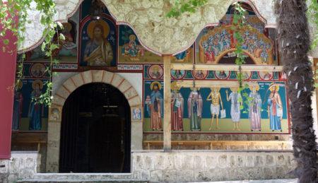 Προσκύνημα στην Ιερά Μονή Τιμίου Προδρόμου Πιερίων (Σκήτη Βεροίας)