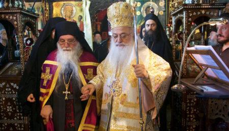 Ενθρόνιση Καθηγουμένου της Ιεράς Σταυροπηγιακής Μονής Τιμίου Προδρόμου Σκήτης Βεροίας αρχιμ. Πορφυρίου Μπατσαρά
