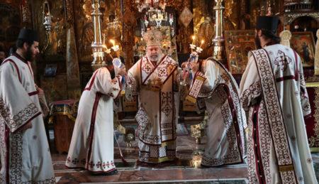 Η Μονή Βατοπαιδίου τίμησε τους Αγίους της (27/07/2016)