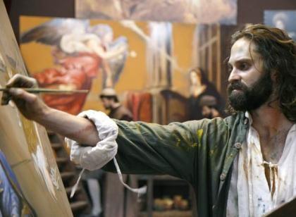 """Στιγμιότυπο της ταινίας του Γιάννη Σμαραγδή """"El Greco"""""""