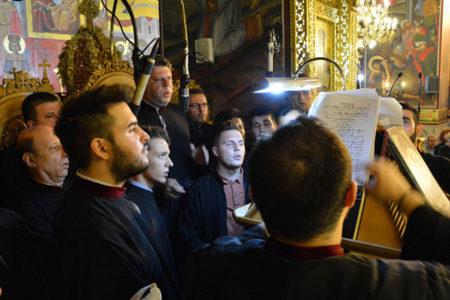 Πανηγυρικός Εσπερινός στη Μητρόπολη Θεσσαλονίκης για τη μνήμη του αγ. Ανθίμου