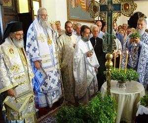 Εορτασμός της Υψώσεως του Τιμίου Σταυρού στη Λέρο