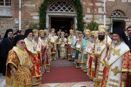 Λιτανεία των ιερών λειψάνων του αγ. Δημητρίου στη Θεσσαλονίκη (25/10/2016)