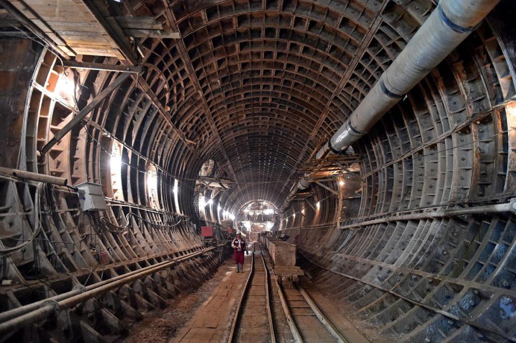Πως κατασκευάζεται το μετρό της Μόσχας