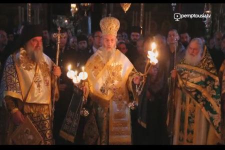 Πανήγυρις του Αγίου Ευδοκίμου στη Μονή Βατοπαιδίου (2016)