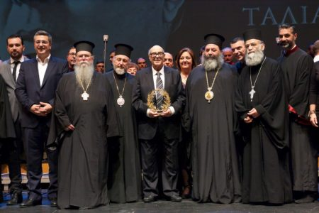 Η Θεσσαλονίκη τίμησε τον Πρωτοψάλτη της Χαρίλαο Ταλιαδώρο