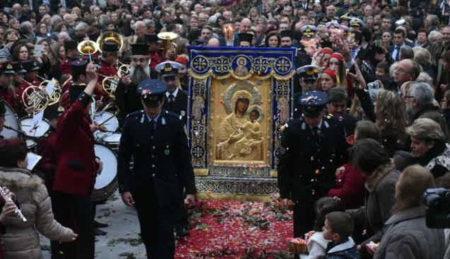 Υποδοχή και Ενθρόνιση της Παναγίας Βηματάρισσας στο Μητροπολιτικό ναό Βόλου