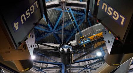 «Προσαρμοζόμενο» τηλεσκόπιο για πιο καθαρές εικόνες του διαστήματος