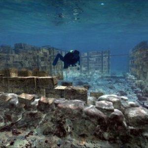 Μια ελληνική πόλη κάτω από τη θάλασσα της Ελαφονήσου