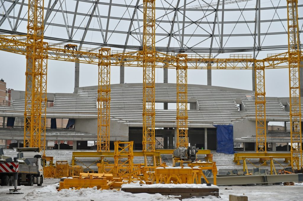 Δυναμό Μόσχας: η ανακατασκευή ενός ιστορικού σταδίου