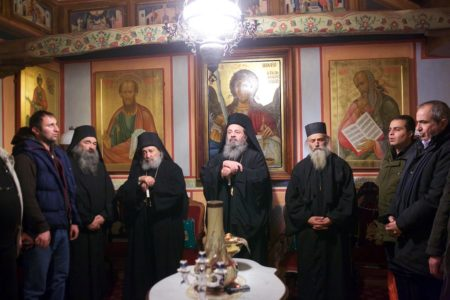 Πανήγυρις αγ. Γρηγορίου Νύσσης στη Μονή Δοχειαρίου: Πανηγυρικός Εσπερινός (2017)