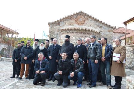 Στιγμές από την επίσκεψη του Γέρ. Εφραίμ στη Μητρόπολη Αιτωλίας και Ακαρνανίας (28-29/1/2017)