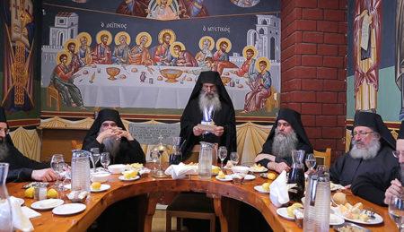 Ομιλίες στην πανήγυρη των Τριών Ιεραρχών στην Αθωνιάδα Σχολή (2017)
