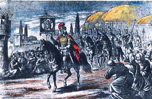 Αποτέλεσμα εικόνας για Ο Ακάθιστος Ύμνος και η ιστορία του