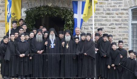 Πανήγυρις των Τριών Ιεραρχών στην Αθωνιάδα Σχολή (2017)