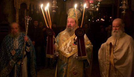 Πανήγυρις αγ. Γρηγορίου Νύσσης στη Μονή Δοχειαρίου-Πανηγυρικός Όρθρος και Θεία Λειτουργία (2017)