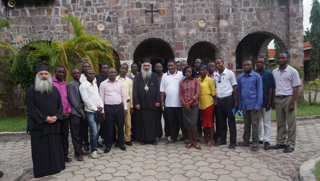 Όταν η Ορθόδοξη νεολαία του Κογκό συναντούσε τον πνευματικό της πατέρα