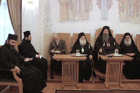 Η Ιερά Πανήγυρις του Αγ. Ιωακείμ Παπουλάκη στο Βατοπαίδι