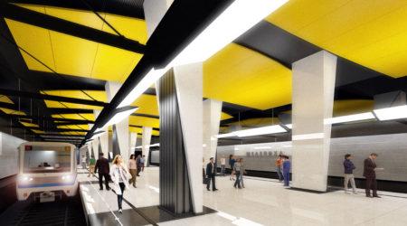 Η «ασπρο-κίτρινη» στάση του μετρό της Μόσχας